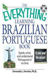 The Everything Learning Brazilian Portuguese Book by Fernanda Ferreira