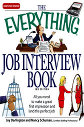 The Everything Job Interview Book by Joy Darlington