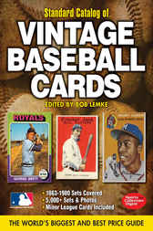 Standard Catalog of Vintage Baseball Cards by Bob Lemke