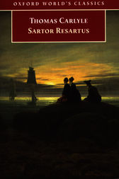 Sartor Resartus by Thomas Carlyle