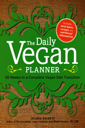 The Daily Vegan Planner by Jolinda Hackett