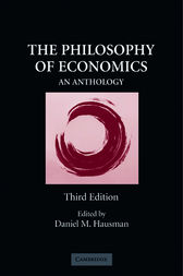 The Philosophy of Economics by Daniel M. Hausman