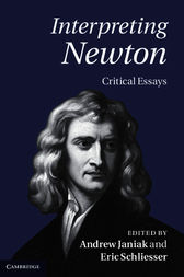 Interpreting Newton by Andrew Janiak