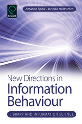 New Directions in Information Behaviour by Amanda Spink
