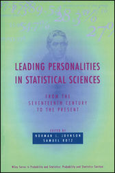 Leading Personalities in Statistical Sciences by Norman L. Johnson