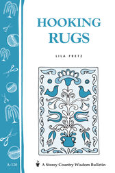 Hooking Rugs by Lila Fretz