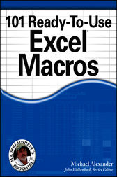 101 Ready-To-Use Excel Macros by Michael Alexander