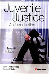 Juvenile Justice by John T. Whitehead