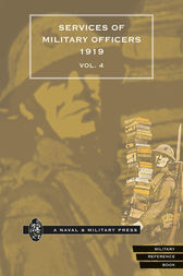 Quarterly Army List for the Quarter Ending 31st December, 1919 - Volume 4 by HMSO