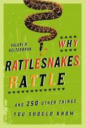 Why Rattlesnakes Rattle by Valeri R. Helterbran