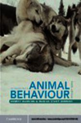 An Introduction to Animal Behaviour by Aubrey Manning