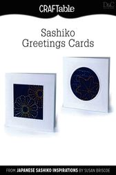 (Sashiko) Greetings Cards by Editors of D&C