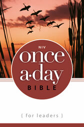 NIV Once-A-Day Bible for Leaders by Zondervan