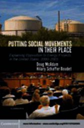 Putting Social Movements in their Place by Doug McAdam
