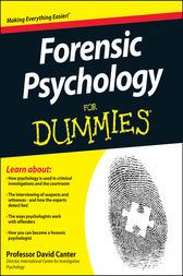 Forensic Psychology For Dummies by David Canter