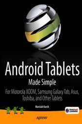 Android Tablets Made Simple by Marziah Karch