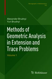 Methods of Geometric Analysis in Extension and Trace Problems