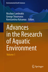 Advances in the Research of Aquatic Environment by unknown