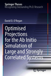 Optimised Projections for the Ab Initio Simulation of Large and Strongly Correlated Systems