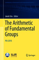 The Arithmetic of Fundamental Groups by unknown