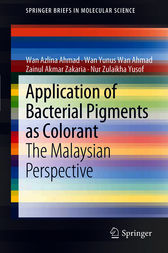 Application of Bacterial Pigments as Colorant by Wan Azlina Ahmad
