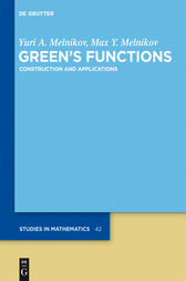 Green's Functions by Yuri A. Melnikov