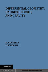 Differential Geometry, Gauge Theories, and Gravity by M. Göckeler
