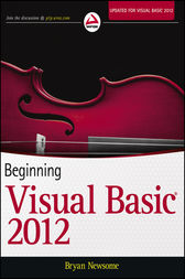 Beginning Visual Basic 2012 by Bryan Newsome