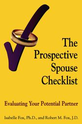 The Prospective Spouse Checklist