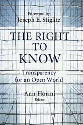 The Right to Know by Ann Florini
