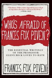 Who's Afraid of Frances Fox Piven? by Frances Fox Piven