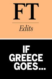 If Greece goes.