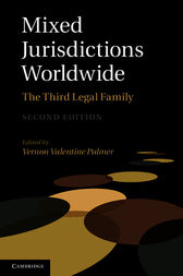 Mixed Jurisdictions Worldwide by Vernon Valentine Palmer
