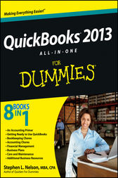 QuickBooks 2013 All-in-One For Dummies by Stephen L. Nelson