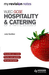 WJEC GCSE Hospitality & Catering by Judy Gardiner