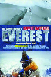 The Mammoth Book of How it Happened - Everest by Jon E. Lewis
