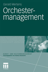 Orchestermanagement by Gerald Mertens