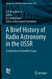 A Brief History of Radio Astronomy in the USSR by S. Y. Braude
