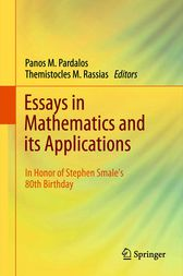 Essays in Mathematics and its Applications by unknown