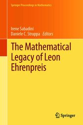 The Mathematical Legacy of Leon Ehrenpreis by Irene Sabadini