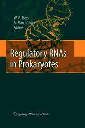 Regulatory RNAs in Prokaryotes by Anita Marchfelder