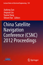 China Satellite Navigation Conference (CSNC) 2012 Proceedings by Shiwei Fan