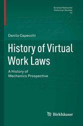 History of Virtual Work Laws by Danilo Capecchi