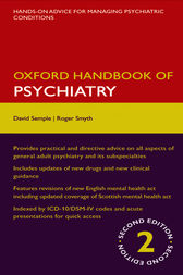 Oxford Handbook of Psychiatry by David Semple