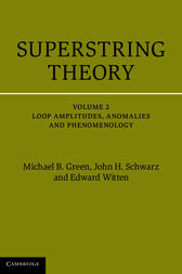 Superstring Theory: Volume 2, Loop Amplitudes, Anomalies and Phenomenology by Michael B. Green
