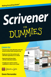 Scrivener For Dummies