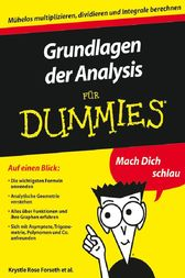 Grundlagen der Analysis für Dummies by Krystle Rose Forseth