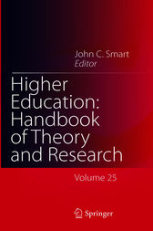 Higher Education: Handbook of Theory and Research