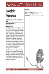 Google in Education by William Lawrence