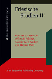 Friesische Studien II by Volkert F. Faltings